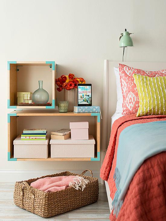 Yatak Odası Kitaplık Dekorasyonu