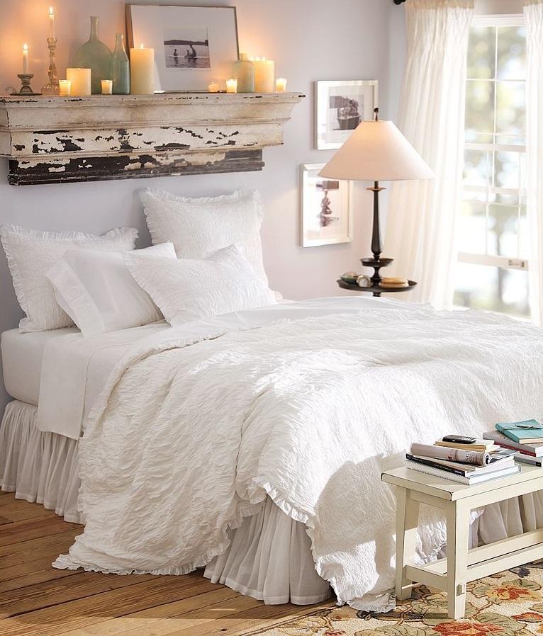 Yatak Odası Mum Dekorasyonu