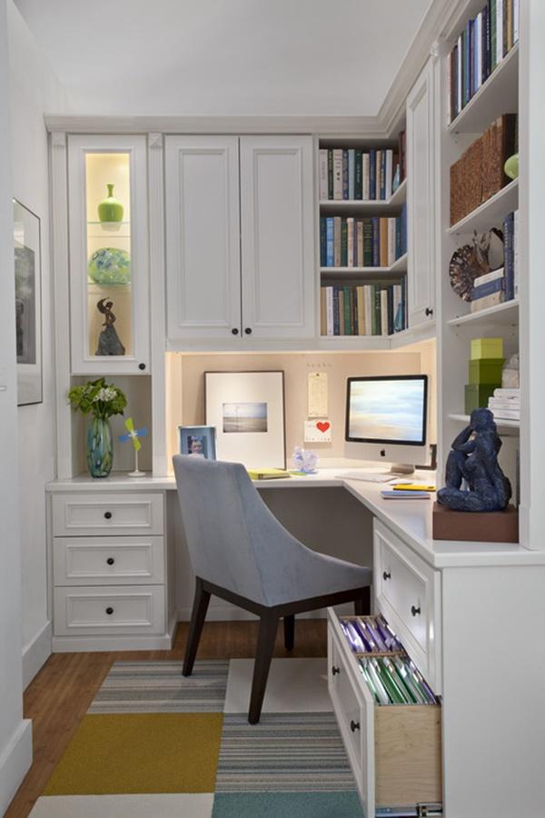 Küçük Çalışma Odası Dekorasyonu