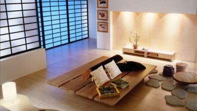 Japon Mimarisi Oturma Odası
