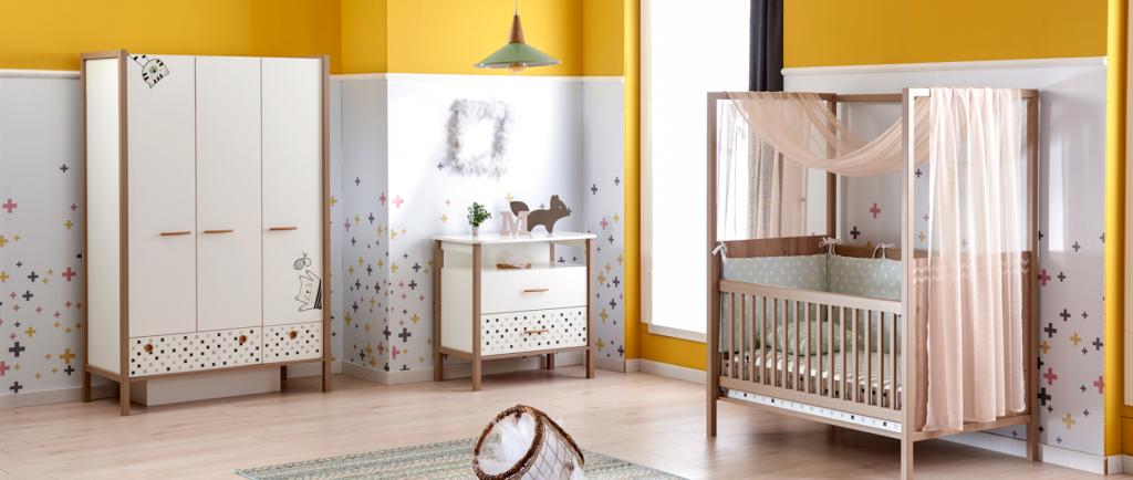 Kids And Teens Plus Kız Bebek Odası Takımı