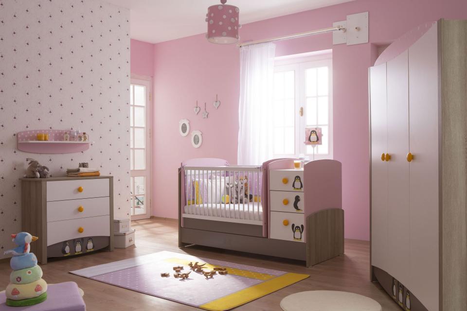 Pink Penny Kız Bebek Odası