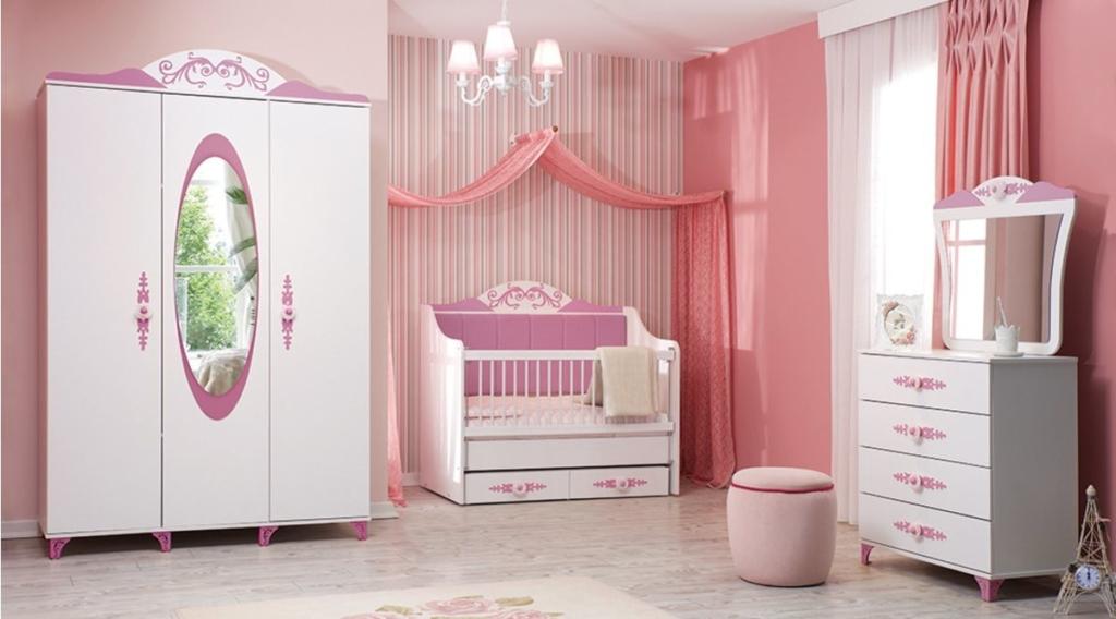 Vivensa Prenses Bebek Odası Takımı Candy
