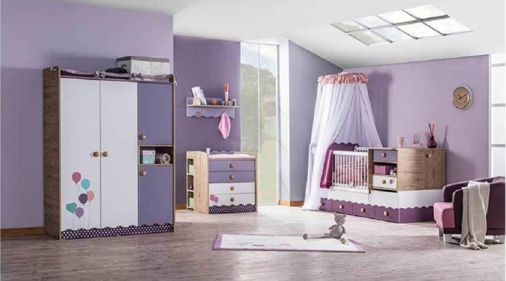 Vivensa Viola Bebek Odası Takımı