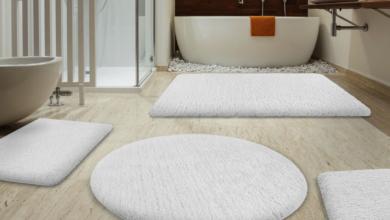 Banyo Dekorasyonuna Uygun Paspas Modelleri