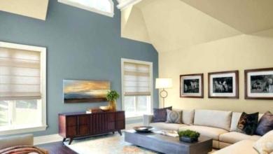 Dekorasyonda Bir Duvarı Farklı Renge Boyamak