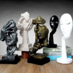 farklı renk heykel modelleri