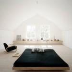 ferah çatı katı yatak odası