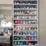 konmari yöntemi ile ayakkabılık düzenlenmesi