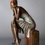 modern tarz heykel