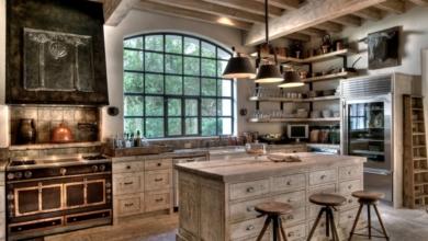 Mutfaklarda Rustik Tarz Esintileri