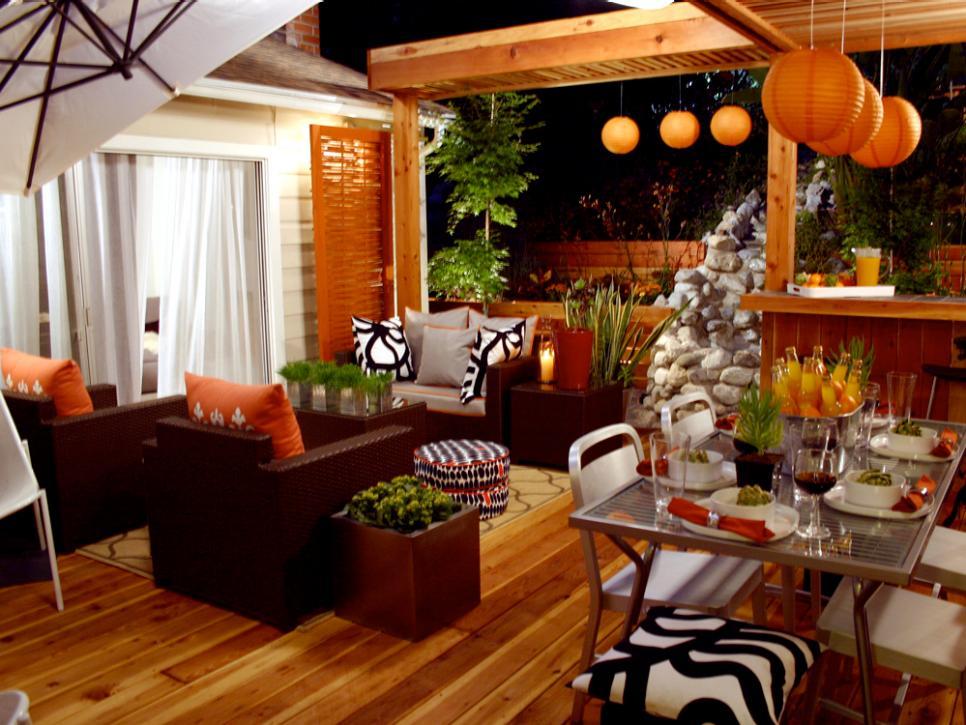 turuncu dekorasyon örneği