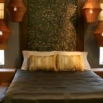turuncu yatak odası
